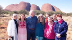 Group at Kata Tjuta 2014
